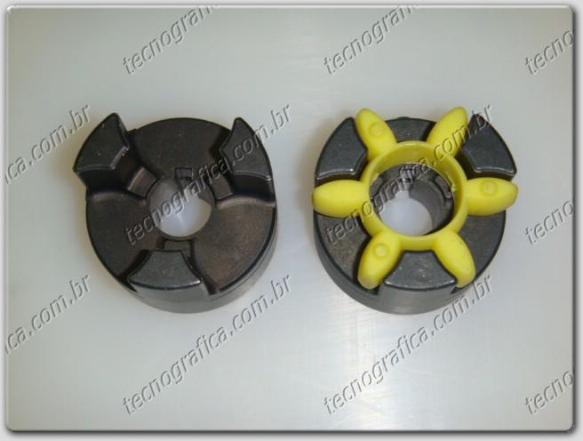 Acoplamento motor c/ bomba hidraulica