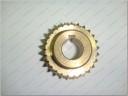 Coroa de bronze freio de folhas